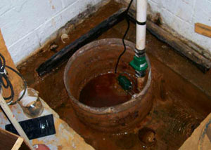 Extreme clogging and rust in a Putnam sump pump system